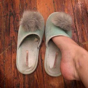 Very well worn VS slippers